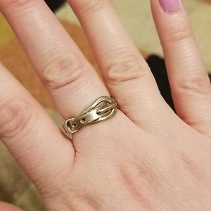 Jewelry - Sterling Silver Belt Ring